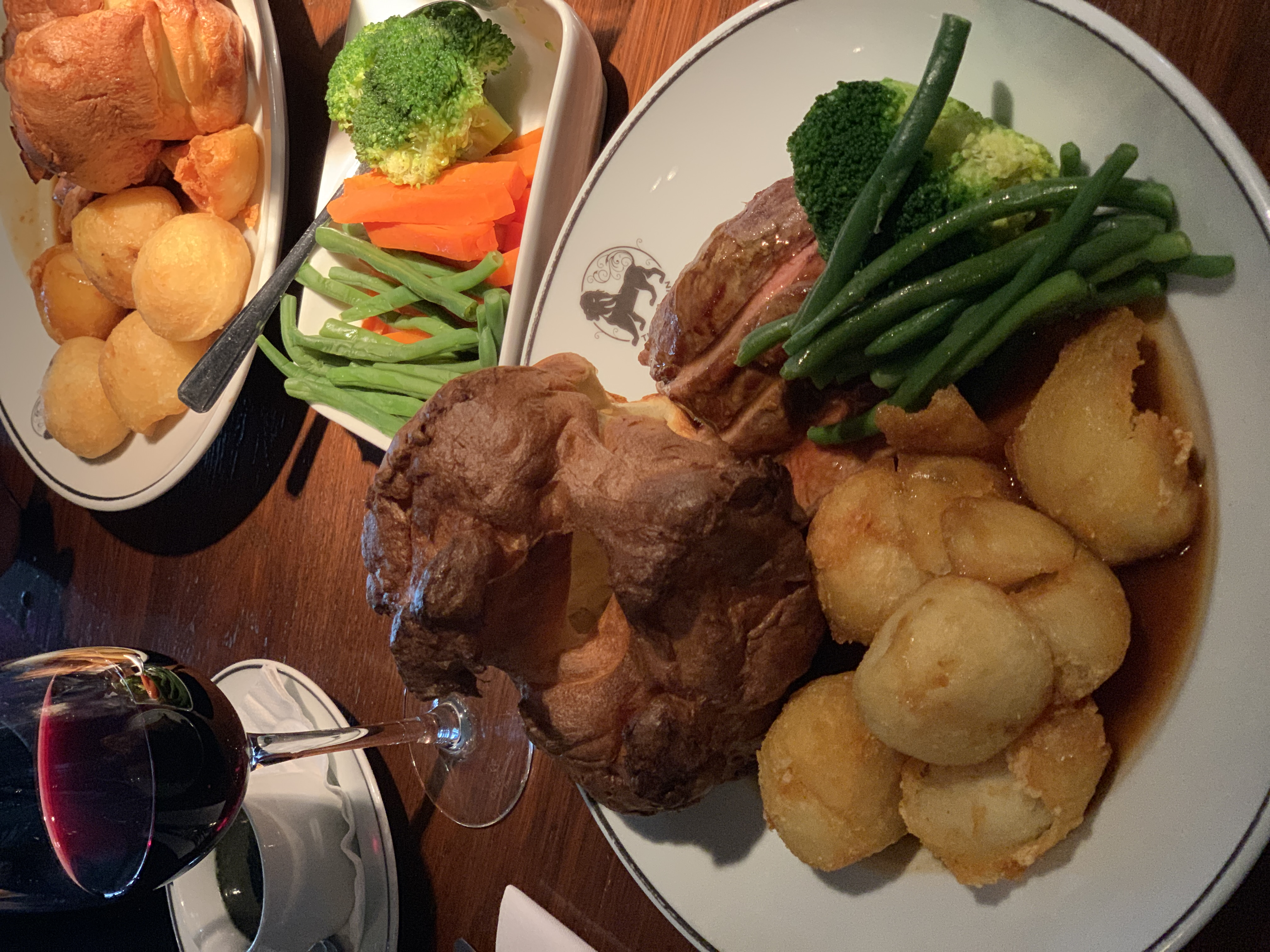 lion inn review restaurant pr agency essex